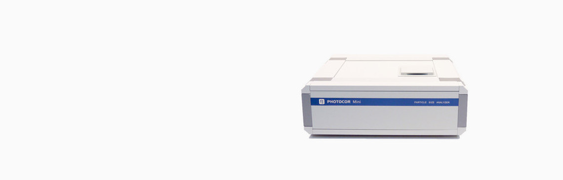 Miniature particle size analyzer Photocor Mini